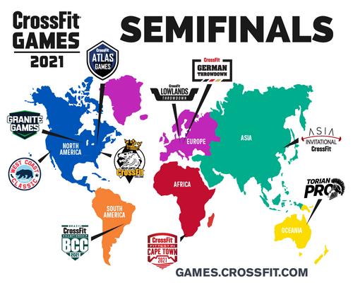 Conheça os eventos sancionados do CrossFit Games